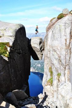 Kjerag Mountain, Norway // hiking trails, travel