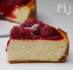 New York Cheesecake de frambuesa / Raspberry New York cheesecake
