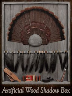 Here is another idea for the Turkey Hunters. Show off years of trophy birds with this neat shadow box.  http://www.mckenziesp.com/NW607-P18591.aspx