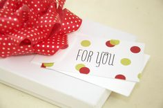 Mini Holiday Gift Tags | Jane