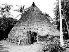 Maloca de Marubos. Javarí, Amazonas, Brasil. View Image, South America, Landscape Design, Cabin, Snow, Architecture, House Styles, Travel, Outdoor