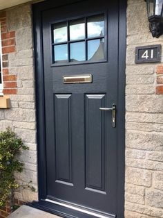 Perfect your cottage style by adding georgian bars to your glass unit. Design your dream Endurance door here; http://design.endurancedoors.co.uk/