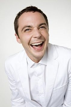 laughing... I love Jim Parsons!