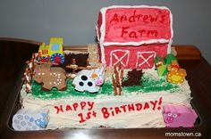 Ideas to host a farm themed birthday party - crafts, food decor! 2nd Birthday Party For Boys, Farm Birthday, Birthday Party Themes, Birthday Ideas, Farm Animal Crafts, Farm Crafts, Farm Party, Paint Party, Craft Party