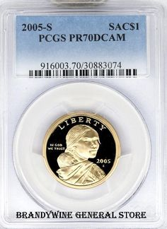 2005-s Cameo Proof Native American Dollar One Like Those Shown