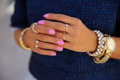 Image about girl in Nails / Nail polish by Love Nails, How To Do Nails, Pretty Nails, Crazy Nails, Marie Antoinette, Viva Luxury, Ysl Beauty, Beauty Shots, Nail Time
