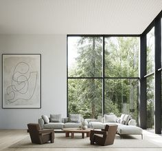 TDC: Dream spaces styled by Lotta Agaton Interiors for Norrlands Trä Minimalist Interior, Modern Interior Design, Interior Design Inspiration, Interior Styling, Interior Architecture, Interior Decorating, Modern Interiors, Minimal Home Design, Modern Minimalist House