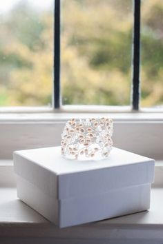 May Blossom Cuff Bracelet | Hermione Harbutt | Source Image Photography | #hermione #harbutt #headdress #bridal #wedding #inspiration | http://www.hermioneharbutt.com/wedding/bracelets/buy.php?Product=213&Title=May+Blossom+Cuff
