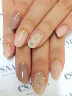 Wedding Nails Neutral Nailart 36 Ideas For 2019 Bridal Nails, Wedding Nails, Nude Nails, Pink Nails, Gorgeous Nails, Pretty Nails, Hair And Nails, My Nails, Finger