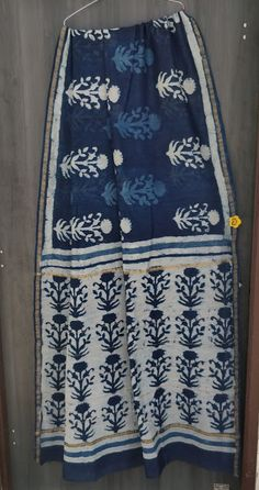 Exclusive New Hand Block Printed Chanderi Silk Sarees - Elegant Fashion Wear Chanderi Silk Saree, Kalamkari Saree, Cotton Saree, Silk Sarees, Embroidery On Kurtis, Kurti Embroidery Design, Block Print Saree, Block Prints, Ethnic Sarees