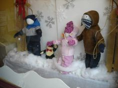 2013 Holiday windows at The Funky Frog, Children's Resale Boutique