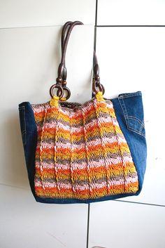 Crochet pattern crochet boho bag pattern crochet por LuzPatterns