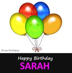 Happy Birthday SARAH images - Names - Birthday Greeting
