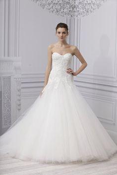 Monique Lhuillier - Infinity  wedding dress, bridal gown