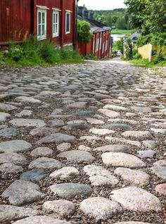 VISIT FOR MORE Cobbled Streets Old Porvoo (I remember pushing a double pram up :-o) The post Cobbled Streets Old Porvoo (I remember pushing a double pram up :-o) appeared first on street. Helsinki, Finland Summer, Baltic Cruise, City Landscape, Archipelago, Kayaking, Norway, Places To See, Beautiful Places