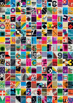 swissted poster grid, 1970-1999
