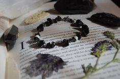 Night Sky Obsidian and Seashell Bracelet Night Skies, Sea Shells, Sky, Bracelets, Heaven, Bangle Bracelets, Seashells, Shells, Bracelet