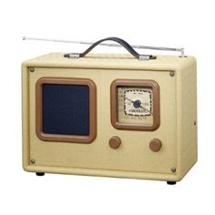 Tweed traveler radio. Ordered for the vintage camper.