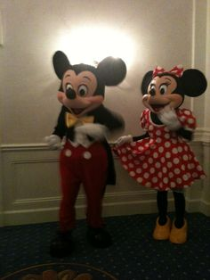 The best for last,  Minnie and Mickey