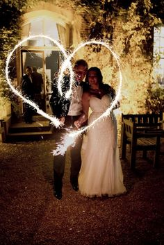 Hodsock Priory was full of enchanting light, sparklers and flickering fires during Michelle and James' Autumnal wedding. Over on our blog we've got more stunning pictures from this magical day.