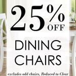 25% OFF Dining Chairs at Choice