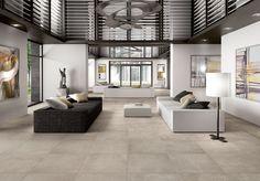 betonlook vloer tegels woonkamer - Google zoeken