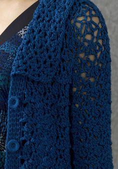 Amsterdam Coat free crochet pattern