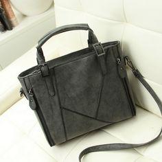 Nuovo Modo di arrivo patchwork classico glassato PU sacchetto di cuoio delle donne, borsa/spalla di cuoio WLHB936