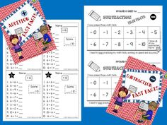 FAST FACTS: Addition and Subtraction Quizzes, Facts to 20 Packet includes: ★Addition and Subtraction Quizzes ★Answer Keys ★Student Record Sheets ★Editable Parent Letter Suitable for: 1st and 2nd graders, aligned with the mathematics CCSS for fluency and automaticity in addition and subtraction facts.