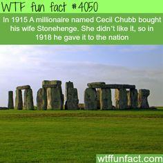 The Stonehenge - WTF fun facts