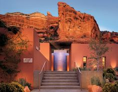 It's like 3 years of therapy in 3 days...The spectacular Mii amo Spa in Sedona. #goopgo
