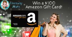Giveaway Moms, are giving away a $100 Amazon Gift Card (just because)... http://swee.ps/CDSlVjwav