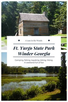 Ft.Yargo State Park in Winder Georgia. A great getaway close to town.