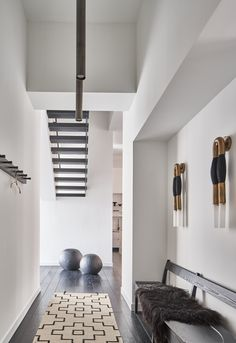 The Woodhouse, Palette, Interior Minimalista, Duplex, Townhouse, New York Photos, Cool Apartments, White Houses, Apartment Design