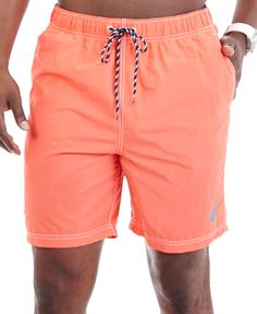 0ba272b463 Nautica Mariner Big & Tall Swim Trunks & Reviews - Swimwear - Men - Macy's