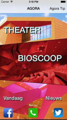 iPhone app Agora theater
