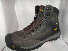 http://rubies.work/0413-sapphire-ring/ KEEN MENS GREY LEATHER HIKING ANKLE  BOOTS SIZE 9.5 M #KEEN #HikingTrail