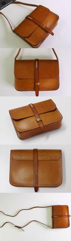 Handmade Leather satchel bag shoulder bag black red for women leather crossbody bag #CrossbodyBags