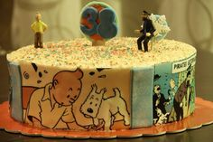 I want this birthday cake! Birthday Cake Gift, Home Art, First Birthdays, Cake Decorating, Projects To Try, Fun, Cakes, Cake Ideas, Literature