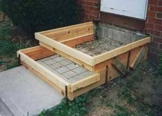 New Floating Stairs Construction Concrete Steps Ideas Patio Steps, Cement Steps, Front Porch Steps, Front Stairs, Outdoor Steps, Wood Steps, Garden Steps, Concrete Front Steps, Concrete Porch