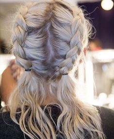 The Best Plaits On Instagram #refinery29  http://www.refinery29.uk/plaits-hair-instagram-hairstyles#slide-14  If the boxer braid is too boring for you, make your own variation with personal touches like letting the ends hang loose. ...