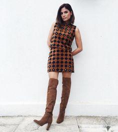 5 Ελληνίδες celebrities φόρεσαν ήδη over – the- knee μπότες  Δες πώς και  πάρε ιδέες για το χειμώνα του έφτασε! e30fb7ff2f2