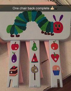 Hungry caterpillar chair