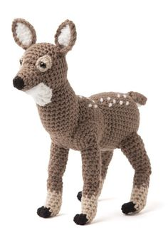 Enchanted Forest Creatures Crochet Pattern Book - Fawn (deer)