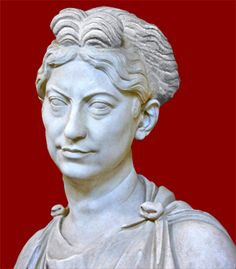 Bust of an unknown woman,possibly from the Severan period  Reinette: Ancient Roman Hairstyles and Headdresses from the Severan to the Theodosian Dynasty 193-423