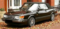 An Absolutely Gorgeous Saab 900S Convertible