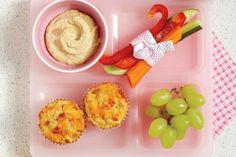 Ham and Cheese Mini Muffins