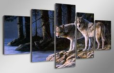 Limited Edition 2 Wolves