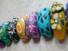 Fimo Armband Kreakette Clay Art, Bracelets, Handmade, Polymer Clay Bracelet, Jewerly, Bangle Bracelets, Hand Made, Craft, Bracelet