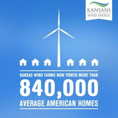 Kansas is now a prominent leader in the wind industry thanks to supporters like you!